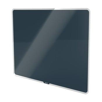 Tablă magnetică din sticlă Leitz Cosy, 80 x 60 cm, gri poza bonami.ro