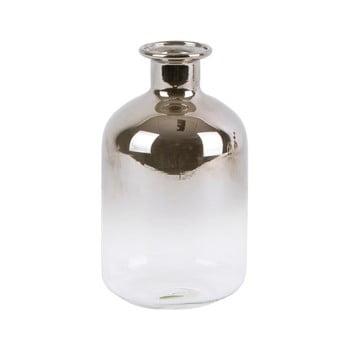 Vază mică din sticlă PT LIVING Silver Tube, înălțime 10 cm bonami.ro