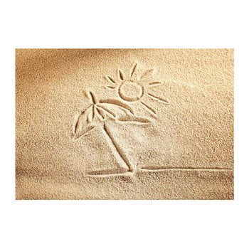 Covoraș din vinilin Sand, 52x75 cm bonami.ro