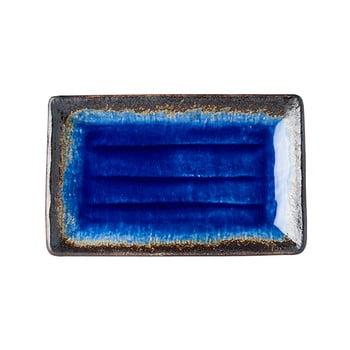 Farfurie servire din ceramică MIJ Cobalt, 21x13cm, albastru bonami.ro