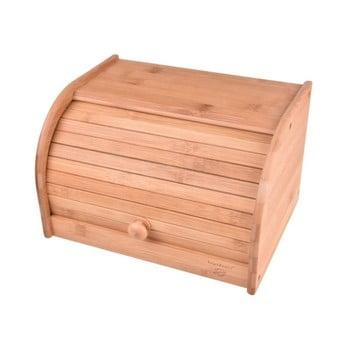 Recipient din bambus pentru pâine Bambum Vitalis Bread Box Small poza bonami.ro