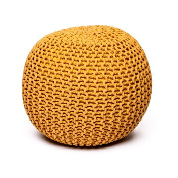 Puf loomi.design, galben muștar bonami.ro