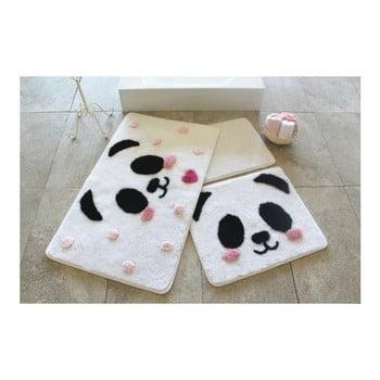 Set 3 covorase de baie Confetti Bathmats Panda