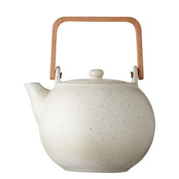 Ceainic din gresie ceramică Bitz Basics, 1,2 l, crem mat bonami.ro