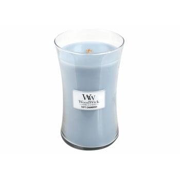 Lumânare cu parfum de in, iasomie și trandafir WoodWick, 110 ore bonami.ro