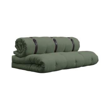 Canapea extensibilă Karup Buckle Up, verde bonami.ro