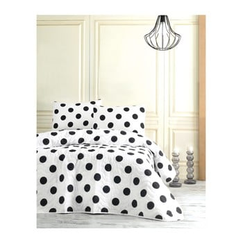 Set cuvertură pentru pat single și față de pernă Jamon, 160 x 220 cm bonami.ro