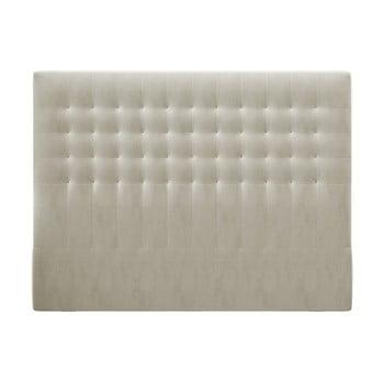Tăblie pentru pat cu tapițerie de catifea Windsor & Co Sofas Apollo, 180x120cm, bej imagine