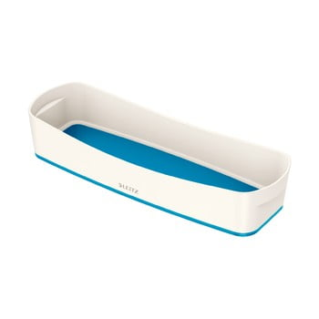 Organizator de birou Leitz MyBox, lungime 31 cm, alb - albastru poza bonami.ro