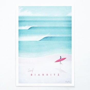 Poster Travelposter Biarritz, A2 bonami.ro