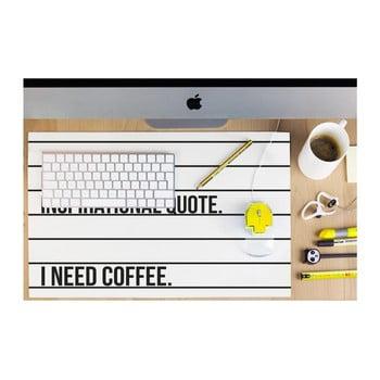 Protecție masă de birou Really Nice Things Coffee poza bonami.ro