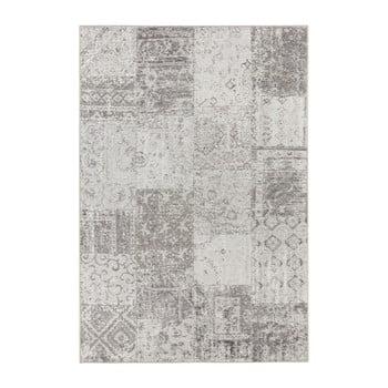 Covor Elle Decor Pleasure Denain, 80 x 150 cm, gri - crem imagine