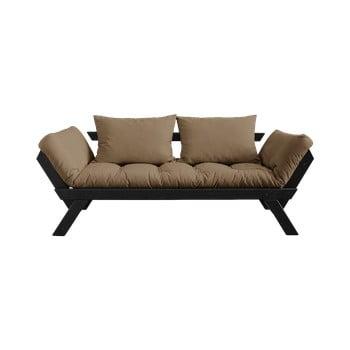 Canapea extensibilă Karup Design Bebop Black/Mocca imagine