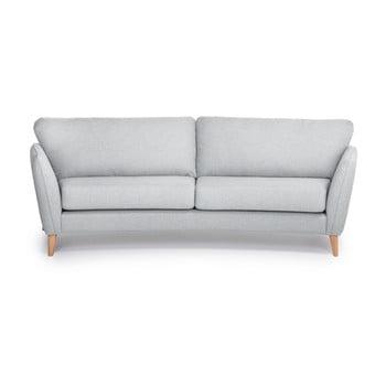 Canapea cu 3 locuri Scandic Paris, gri deschis imagine