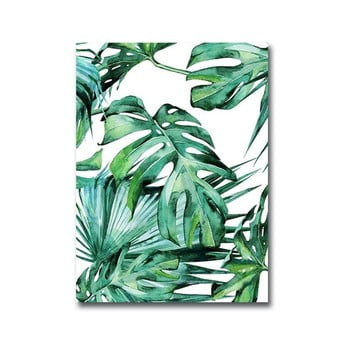 Tablou Canvart Jungle, 28 x 38 cm bonami.ro