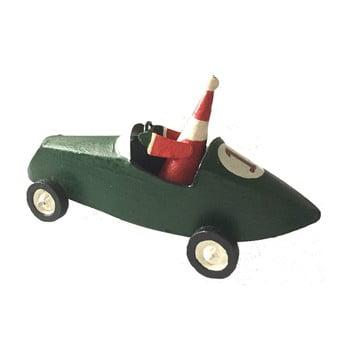 Decorațiune pentru Crăciun G-Bork Santa Claus in Car poza bonami.ro