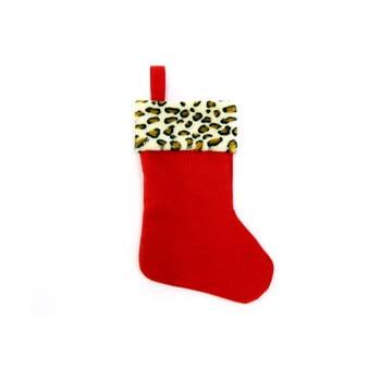 Decorațiune de Crăciun Unimasa, roșu, formă șosetă bonami.ro