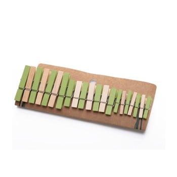 Set 21 de cârlige din bambus Bambum Chacha bonami.ro