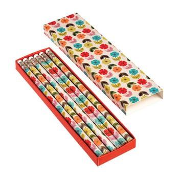 Set 6 creioane Rex London Poppy poza bonami.ro