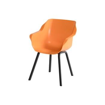 Set 2 scaune de grădină Hartman Sophie, portocaliu deschis imagine