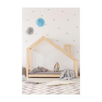 Cadru pat din lemn de pin, în formă de căsuță Adeko Mila DMS, 140 x 190 cm bonami.ro