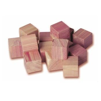 Set 16 cuburi din lemn de cedru pentru dulap Compactor poza bonami.ro