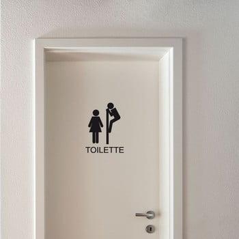 Autocolant Fanastick Toilettes Funny bonami.ro