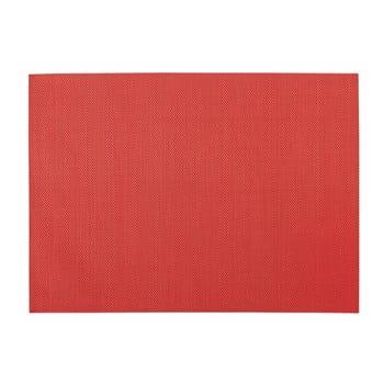 Suport pentru farfurie Zic Zac, 45 x 33 cm, roșu poza bonami.ro