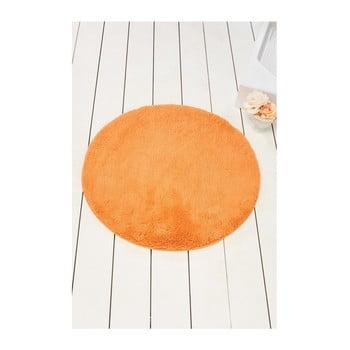 Covor de baie Colors of Cap, ⌀ 90 cm, portocaliu bonami.ro