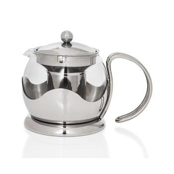 Ceainic din inox cu sită Sabichi Infuser, 750 ml bonami.ro