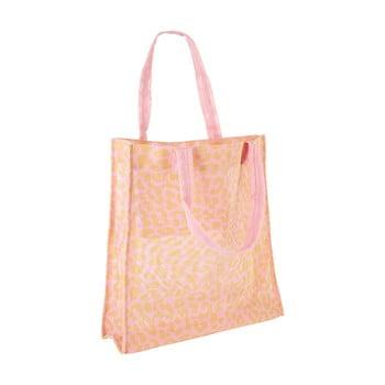 Geantă de plajă Sunnylife Call of the Wild, roz-portocaliu bonami.ro