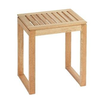Scăunel din lemn pentru baie Wenko Norway bonami.ro
