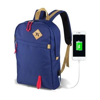 Rucsac cu port USB My Valice FREEDOM Smart Bag, albastru bonami.ro