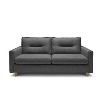 Canapea extensibilă Bobochic Paris Sinki, gri închis imagine
