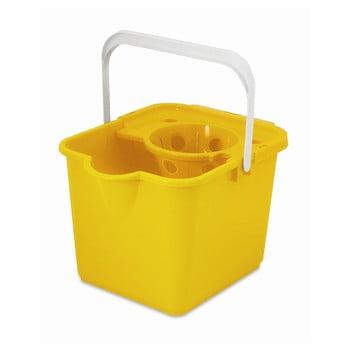 Găleată pentru mop Addis Pail & Wringer, galben poza bonami.ro