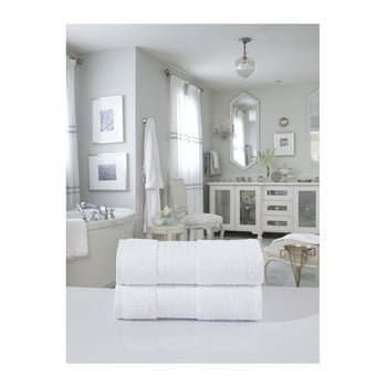 Set 2 prosoape din bumbac Muller Textiels, 70 x 140 cm, alb bonami.ro