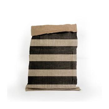 Coş depozitare din hârtie reciclată Surdic Yute Stripes poza bonami.ro