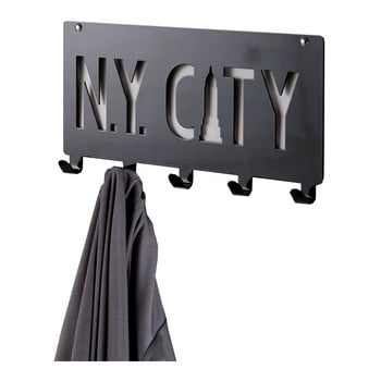 Cuier Compactor NY City, negru poza bonami.ro