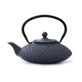 Ceainic din fontă cu infuzor Bredemeijer Xilin, 1,25 litri, albastru bonami.ro