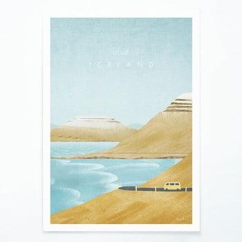 Poster Travelposter Iceland, A3 bonami.ro