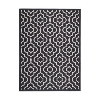 Covor adecvat interior/exterior Safavieh Mykonos Grey, 289 x 200 cm imagine