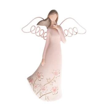 Decorațiune în formă de înger cu fluture Dakls, înălțime 13 cm bonami.ro