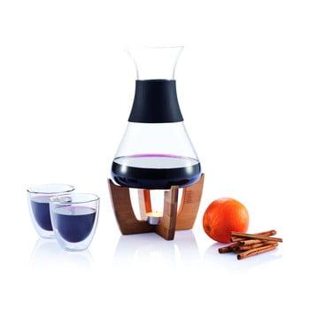 Set pentru vin fiert cu pahare XD Design bonami.ro