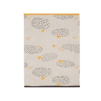 Cuvertură din bumbac pentru copii Södahl Raindrops,80x100cm, bej - portocaliu bonami.ro