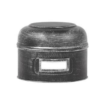 Recipient metalic LABEL51 Antigue, ⌀13cm, negru bonami.ro