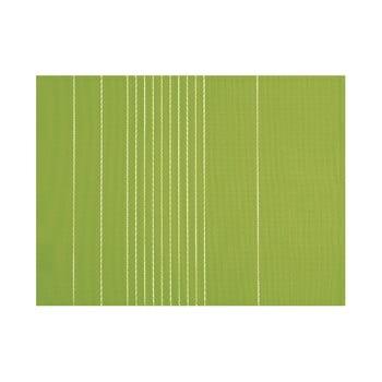 Șervet decorativ Tiseco Home Studio Stripe, 45 x 33 cm, verde bonami.ro
