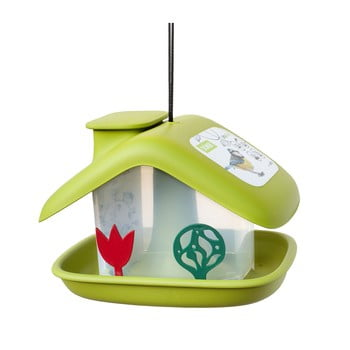 Căsuță pentru păsări Plastia Domek, verde bonami.ro