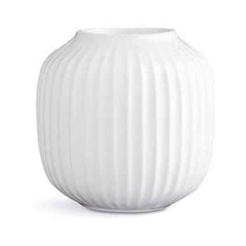 Sfeșnic din porțelan pentru lumânările de ceai Kähler Design Hammershoi, ⌀ 9 cm, alb poza bonami.ro