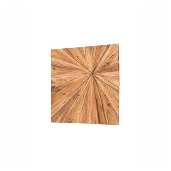 Decorațiune din lemn pentru perete WOOX LIVING Sun, 70 x 70 cm poza bonami.ro