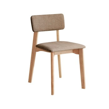 Scaun de birou cu șezut textil DEEP Furniture Max, maro imagine